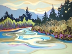 Bend in the River by Carolee Clark