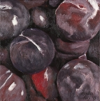 Plums by Amelia Kay Wall