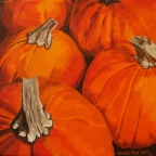 Pumpkins by Amelia Kay Wall