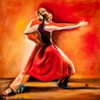 Red Hot Tango by Jenny Anne Morrison