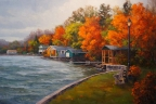 Autumn in North Hatley by Lucy Dickens