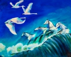 White Swans and White Horses by Jenny Anne Morrison