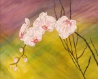 Graceful Orchids by Karen S. Gammage