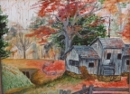 Country Autumn by Karen S. Gammage