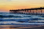 Huntington Beach Pier Sunset by Mattie Mallernee