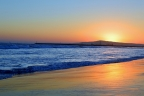 Seal Beach Sunset by Mattie Mallernee