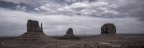Three Butte Panoramic by A O Tucker