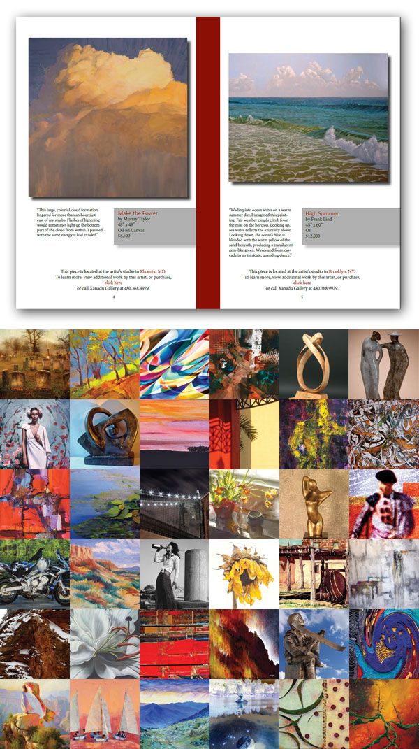 Art Catalogue Page