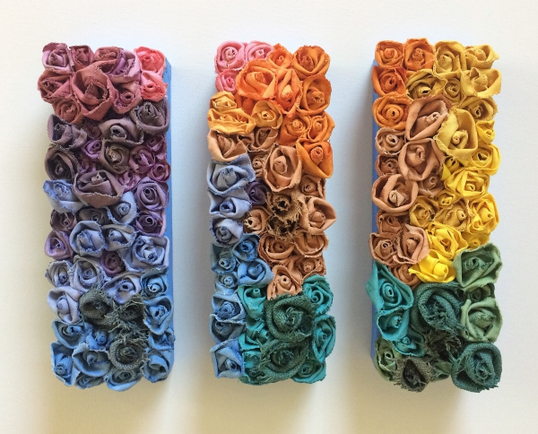 Garden of Roses #23, #24, #25 Over the Rainbow by Andrea Clay Cook