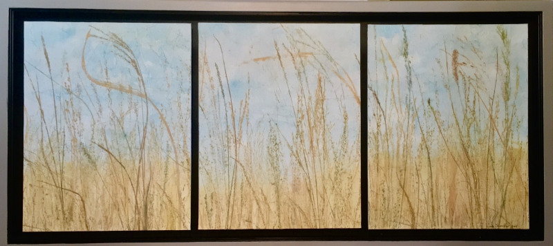 Along the Highway by Linda Snouffer,Botanical Printmaker