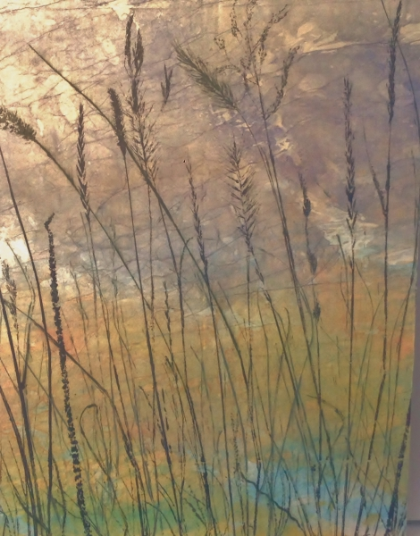 Twilight on the Water by Linda Snouffer,Botanical Printmaker