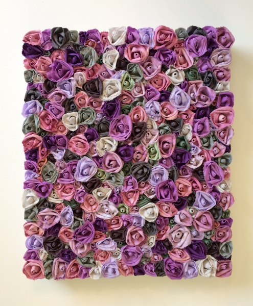 Garden of Roses #106 Lavender Paradise by Andrea Clay Cook