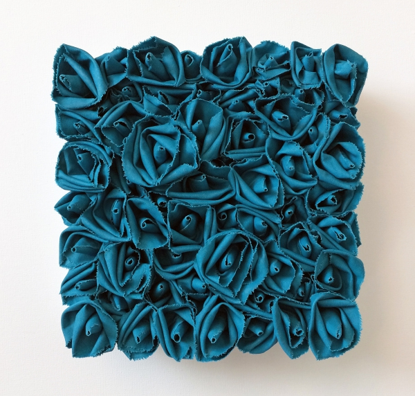 Garden of Roses #110 Blue Topaz by Andrea Clay Cook