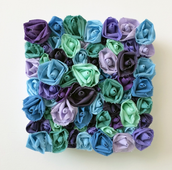 Garden of Roses #114 Lavender Sky by Andrea Clay Cook