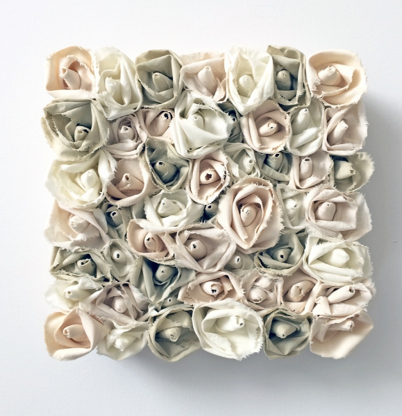 Garden of Roses #126 Sage-Natural Series by Andrea Clay Cook