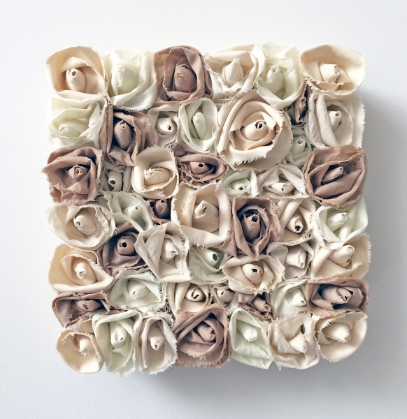 Garden of Roses #127 Sand by Andrea Clay Cook