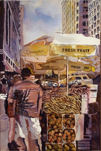 Fresh Fruit to Go by April M. Rimpo