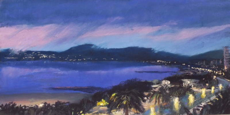 Fréjus Twilight by Linee Baird