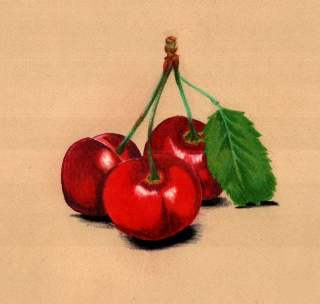 Cherries by Cristal Baldwin
