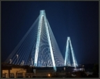 Stan Musial Veterans' Memorial Bridge by David Coblitz - The St. Louis Artographer