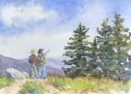 Looking for Mt Mitchell by Jane E Voorhees