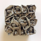 Garden of Roses #64 Preserved in Pewter by Andrea Clay Cook