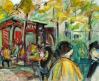 Bryant Park Rush by Sharon Sieben