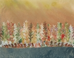Shoreline by Linda Snouffer,Botanical Printmaker