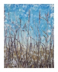 Train Wreck on the Prairie by Linda Snouffer,Botanical Printmaker