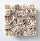 Garden of Roses #127 Sand-Natural Series by Andrea Clay Cook