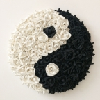 Garden of Roses #131 Balance (YinYang) by Andrea Clay Cook