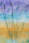 Abstract 114 by Linda Snouffer,Botanical Printmaker