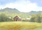 Old Tobacco Barn by Jane E Voorhees