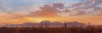 Sonoran Desert Sunset by John Horejs