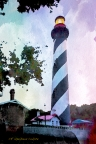Lighthouse - St. Augustine, FL by David Coblitz - The St. Louis Artographer