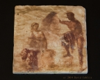 Pompeii 70AD Fresco photo on tile by David Coblitz - The St. Louis Artographer