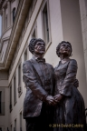 Dred & Harriet Scott Statue by Harry Weber by David Coblitz - The St. Louis Artographer